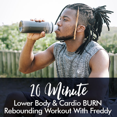20-Minute Lower Body BURN Rebounding Workout with Freddy