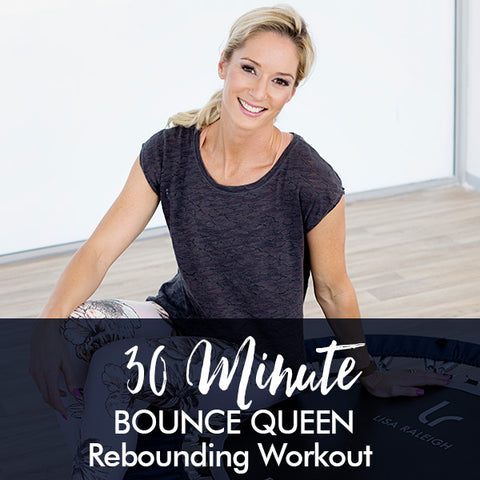 30-Minute BOUNCE QUEEN Rebounding Workout