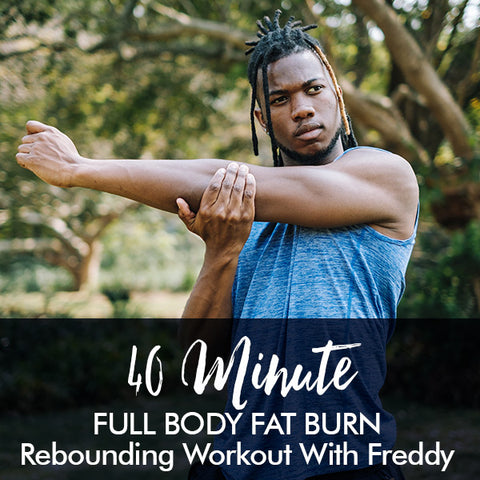 40-Minute FAT BURN Beginners Rebounding Workout with Freddy