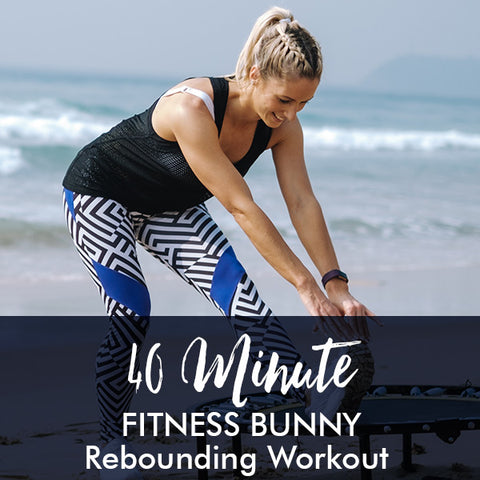 40-Minute FITNESS BUNNY Rebounding Workout