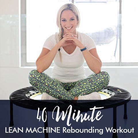 40-Minute LEAN MACHINE rebounding workout