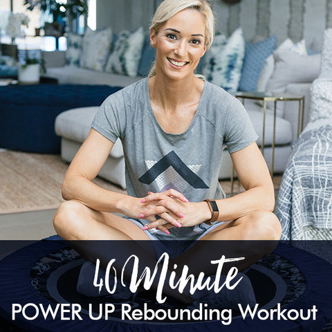 40-Minute POWER UP Rebounding Workout