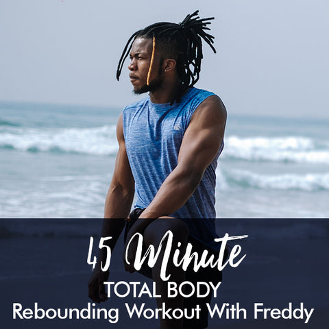 45-minute TOTAL BODY Beginners Workout with Freddy