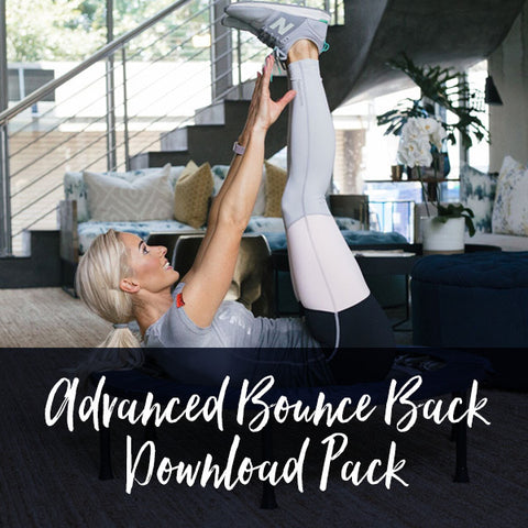 7 Week Rebounding Workout Download Pack | Advanced