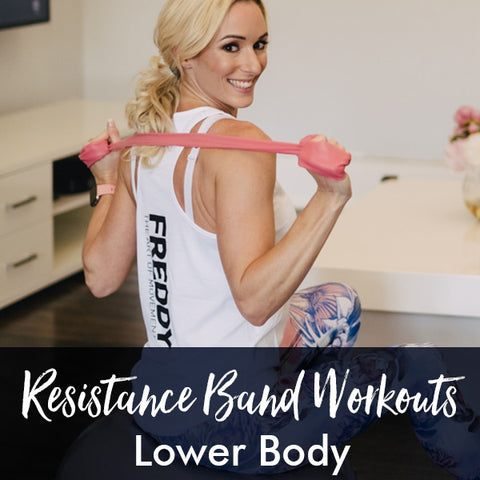 Resistance Band PDF Workout | Lower Body