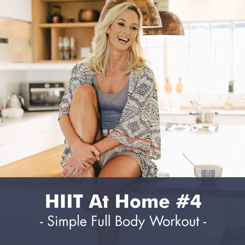 HIIT At Home #4 I PDF Workout