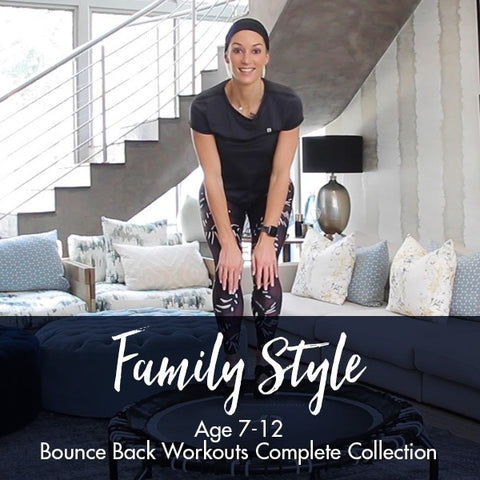 Family Style Workouts Complete Collection | Age 7-12