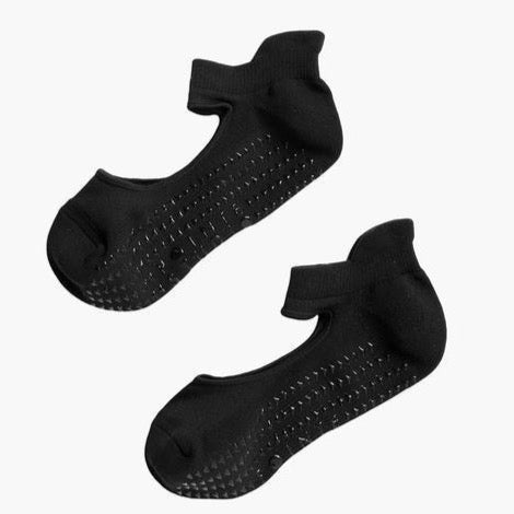 Josie Grip Sock | Black
