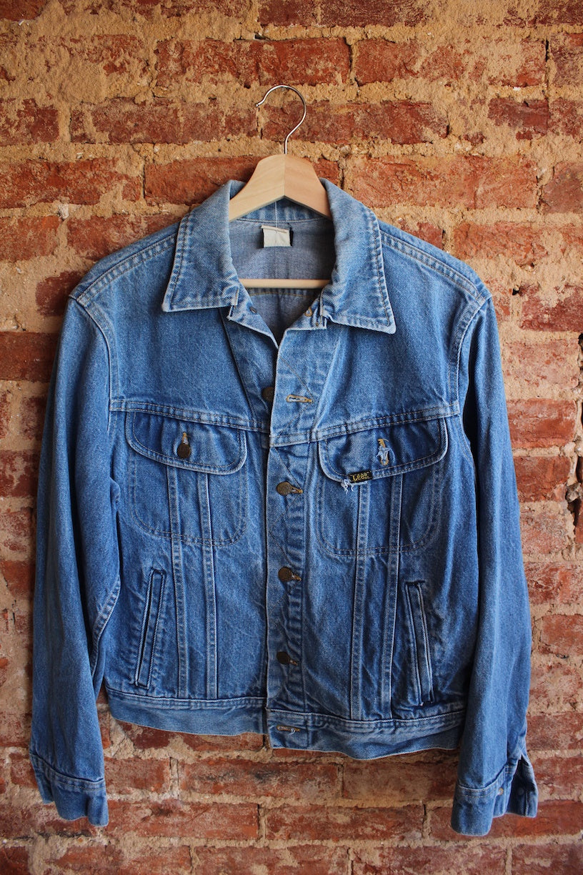 Light Wash Lee Denim Jacket