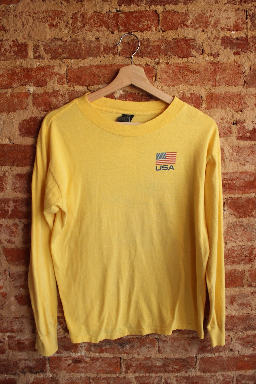 USA 84 Olympics Long Sleeve Tee