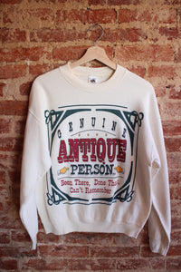 Genuine Antique Person Crewneck