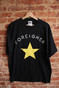 Foreigner Tour Tee