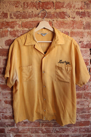 Yellow Bowling Shirt