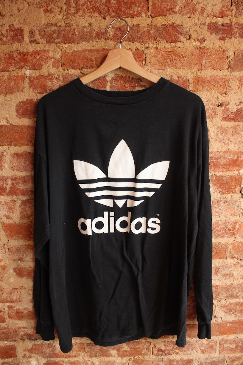 Adidas Black Long Sleeve Tee
