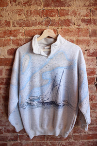 Sailing Map Crewneck