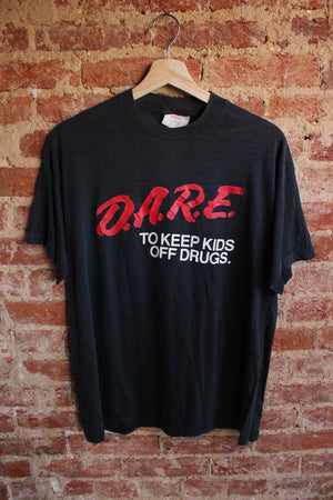 Dark Grey DARE Tee