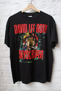 David Lee Roth Skyscraper Tour Tee