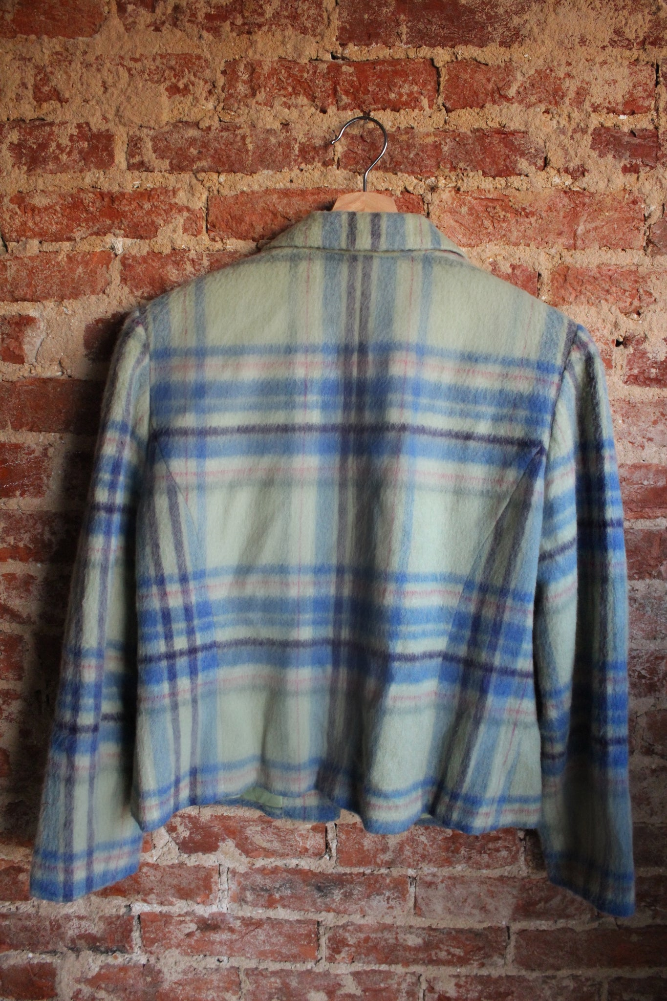 90's Requirements Plaid Jacket