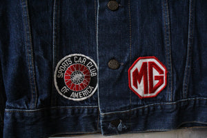 Triple L Racing Patch Denim Jacket
