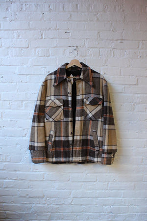 Sears Fur Lined Flannel