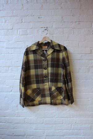 Pendleton Flannel Top