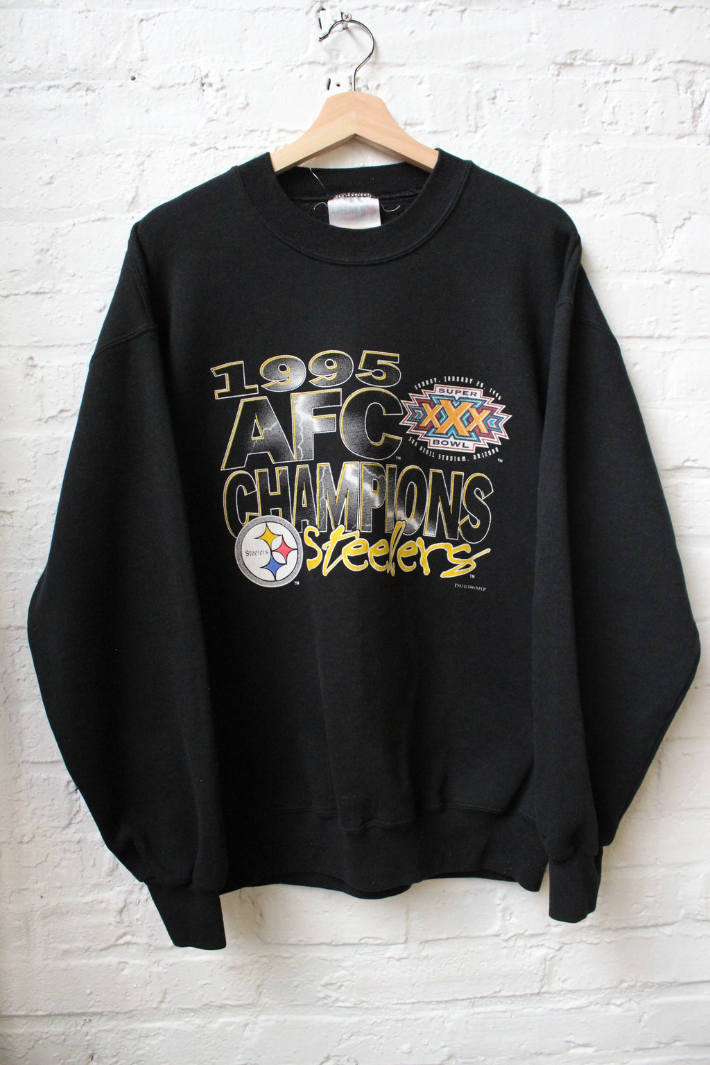 AFC Champions Steelers Crewneck