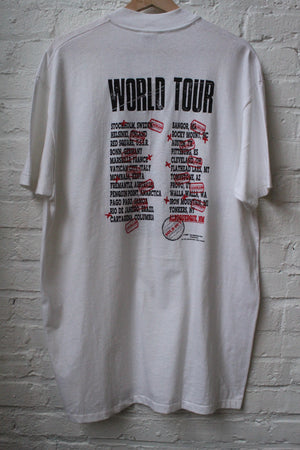 Billy and the Boingers 87 World Tour Tee