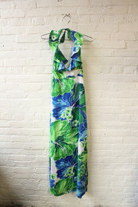 70s Pomare Hawaii Dress