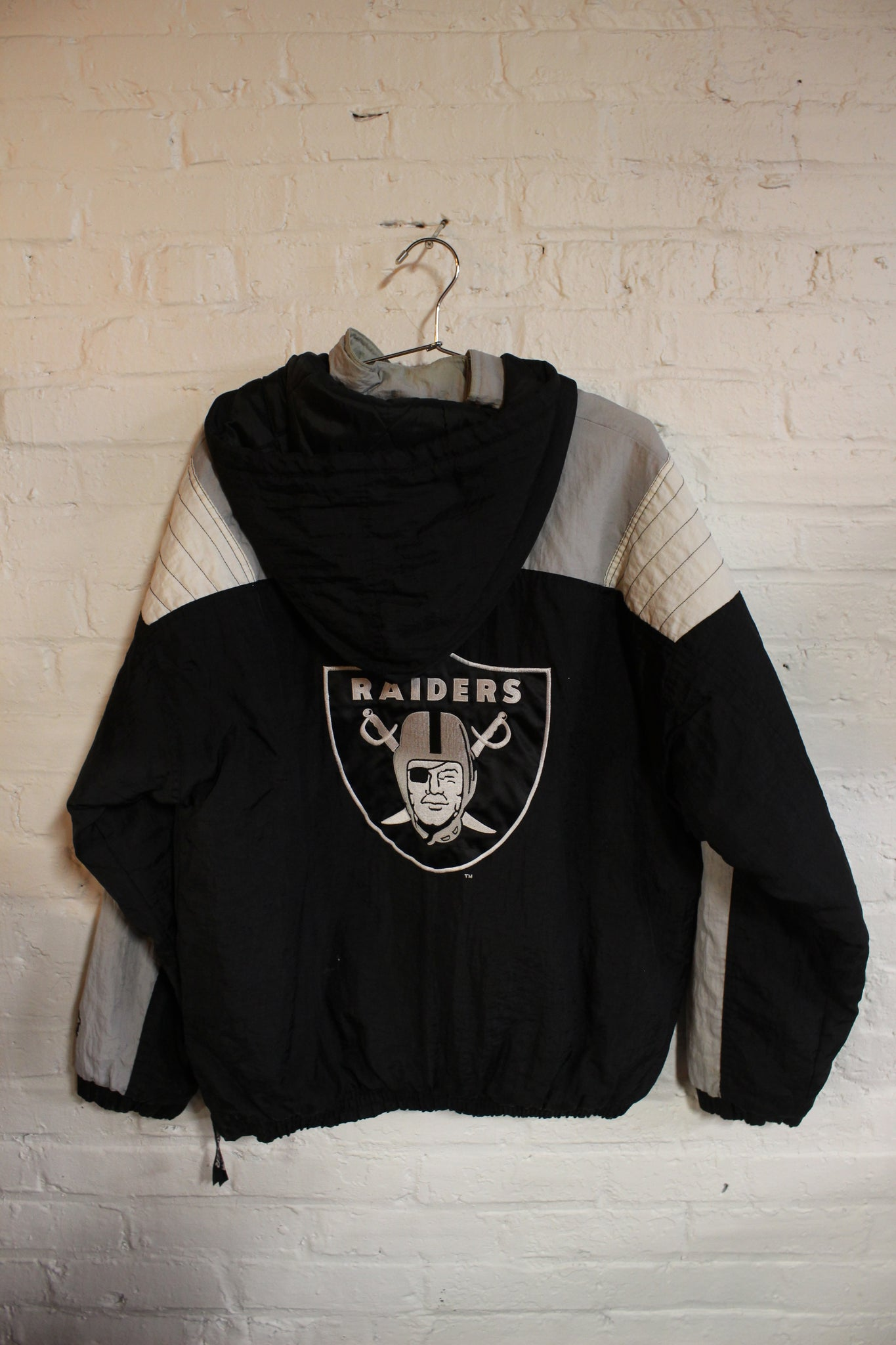 Raiders Pullover Starter Jacket