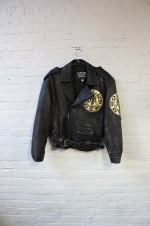 Maziar Gold's Gym Leather Jacket