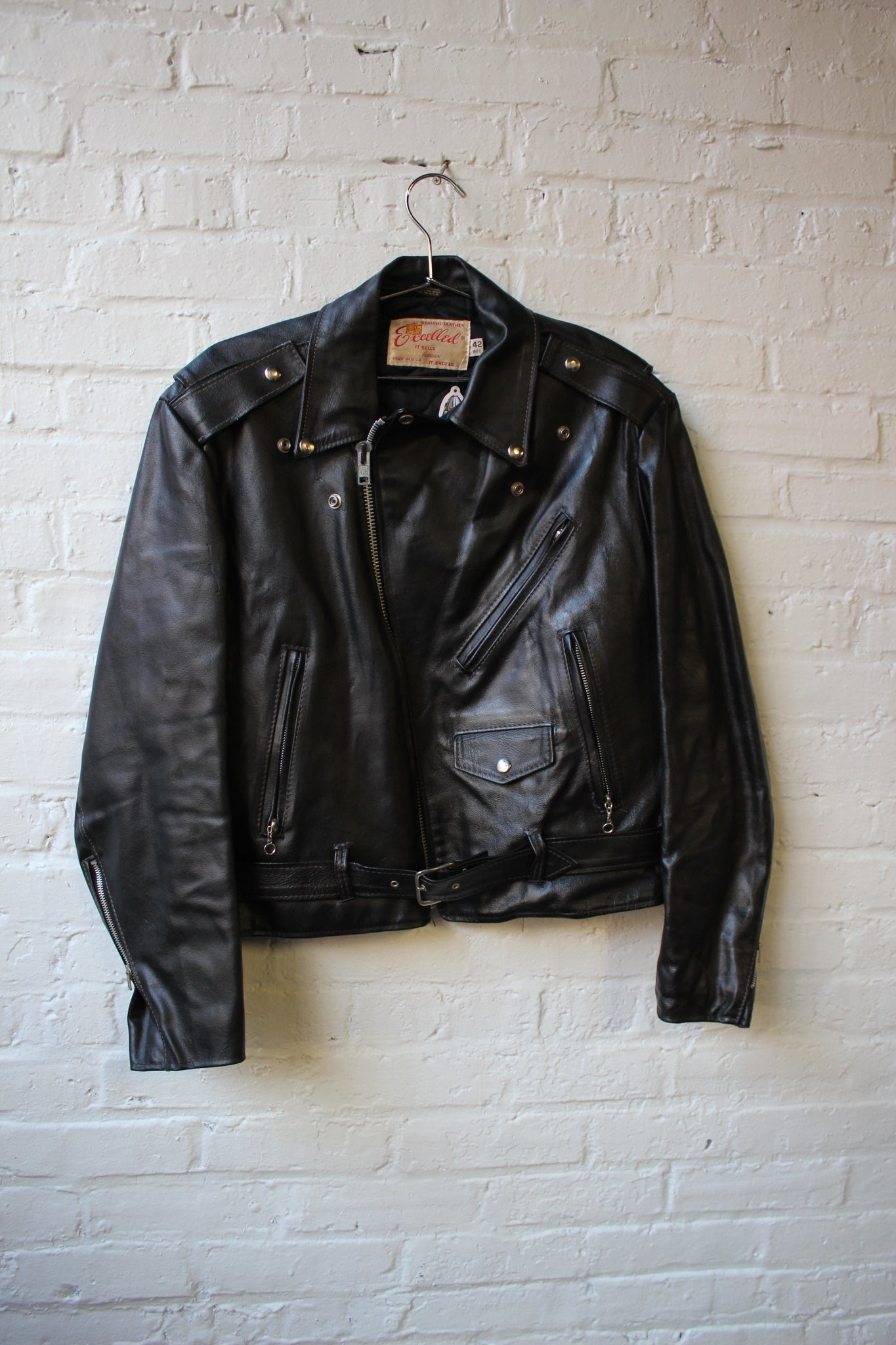 Excelled Genuine Leather Jacket