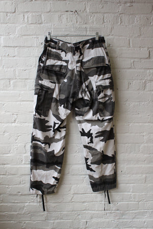 Black and White Camo Pants
