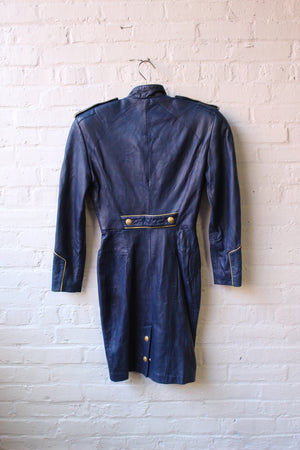 Vintage Michael Hoban Leather Dress