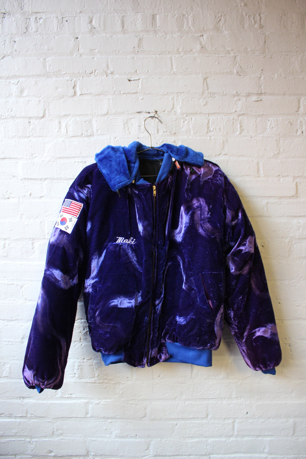 Purple Korean War Souvenir Jacket
