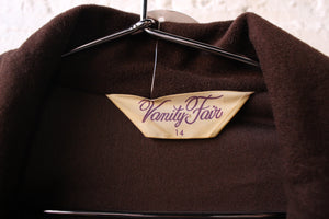 Vanity Fair Brown Dress