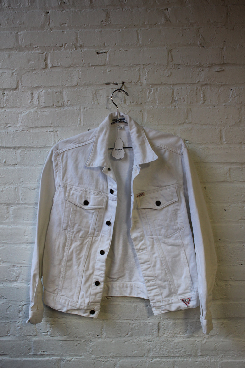 White Denim Georges Marciano for Guess Jacket