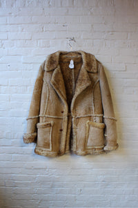 Sears The Leather Shop Shearling Coat
