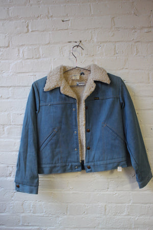 Wrangler Sherpa Denim Jacket