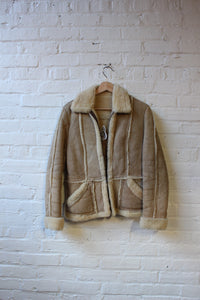 Crop Shearling Jacket