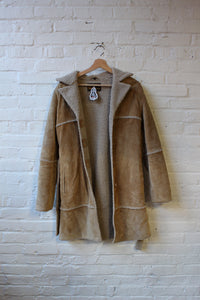 Couture Stuff Shearling Coat