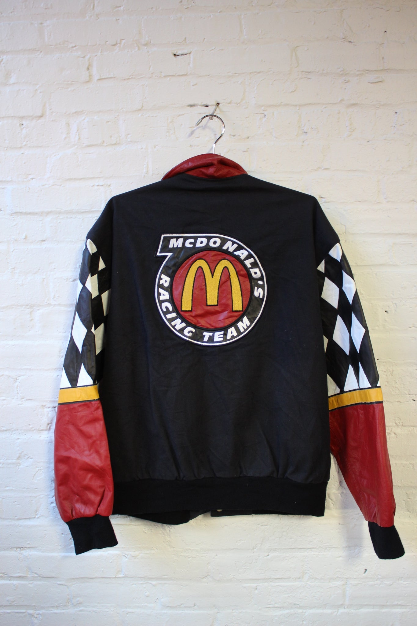 Mcdonalds Racing Team Black Jacket