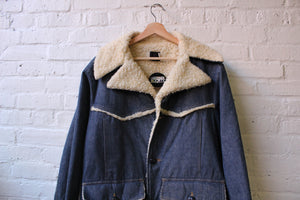Roebucks Shearling Denim Jacket