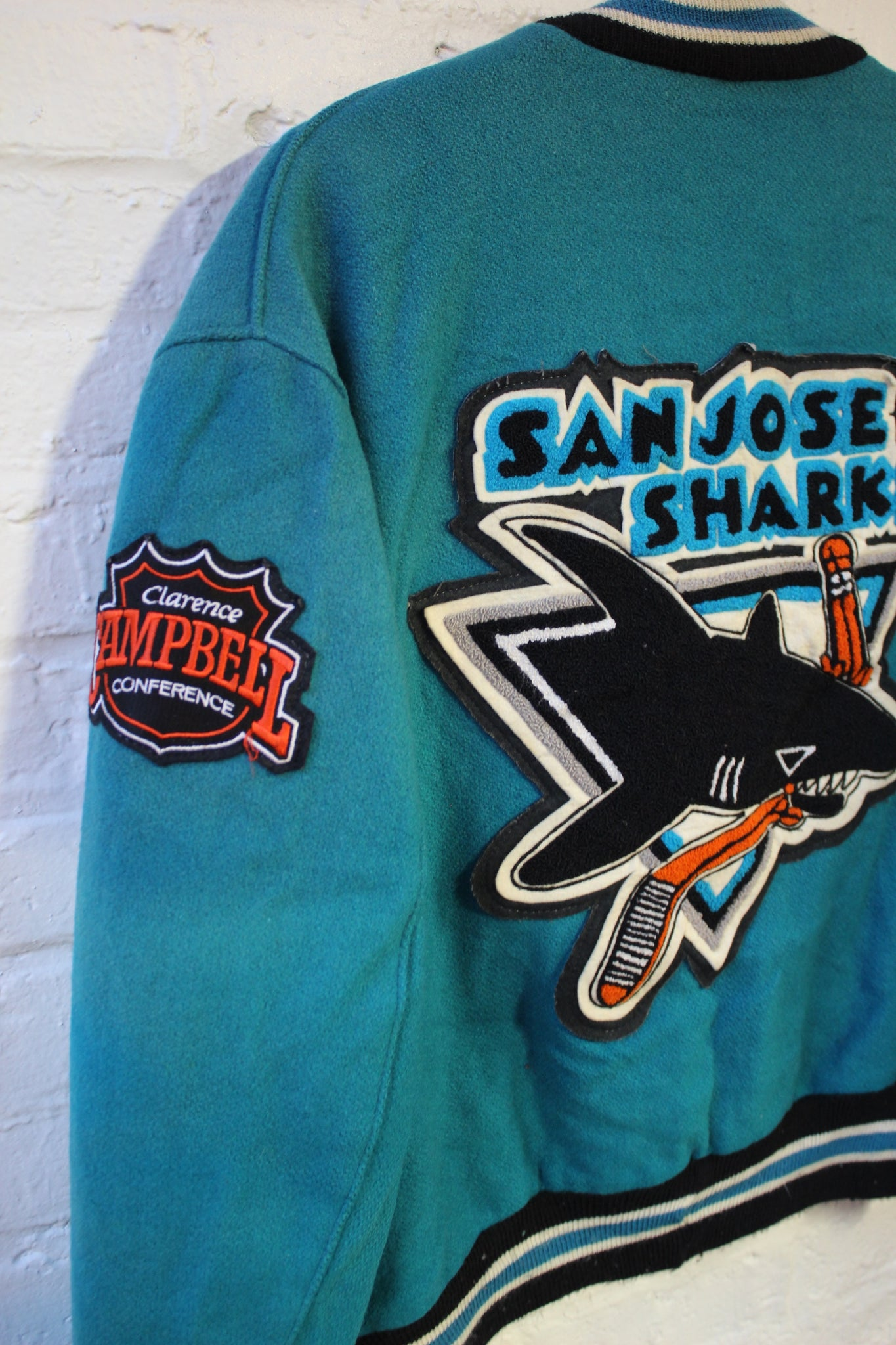 San Jose Sharks Delong Bomber Jacket