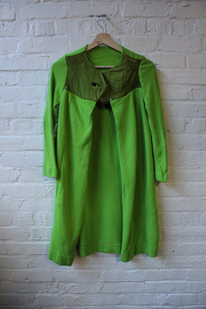 1960s Lime Green Two-Piece Set