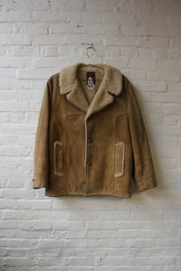 Genuine Leather Shearling Jacket
