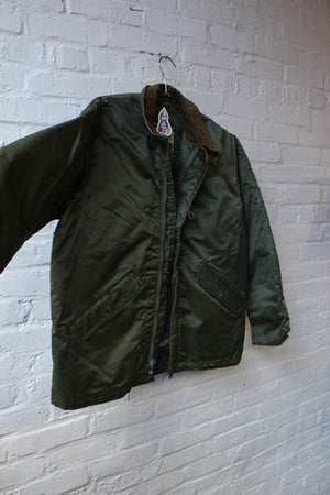 Stamped Army Jacket