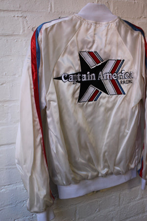 Captain America Racing White Bomber