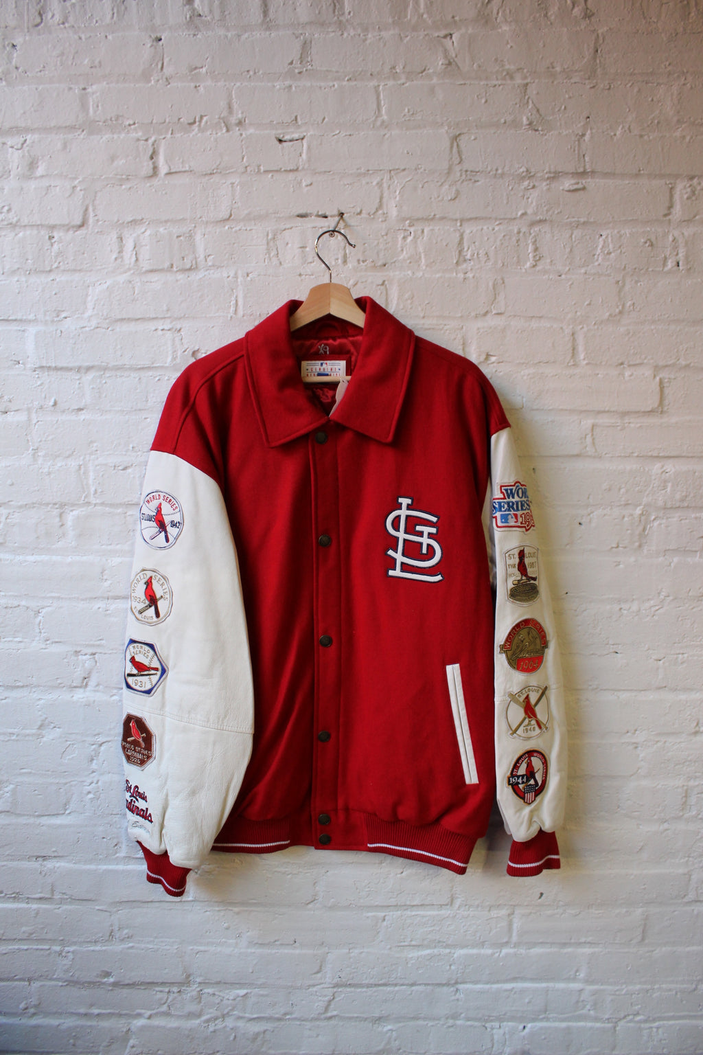 1982 Cardinals All Time Champs Jacket