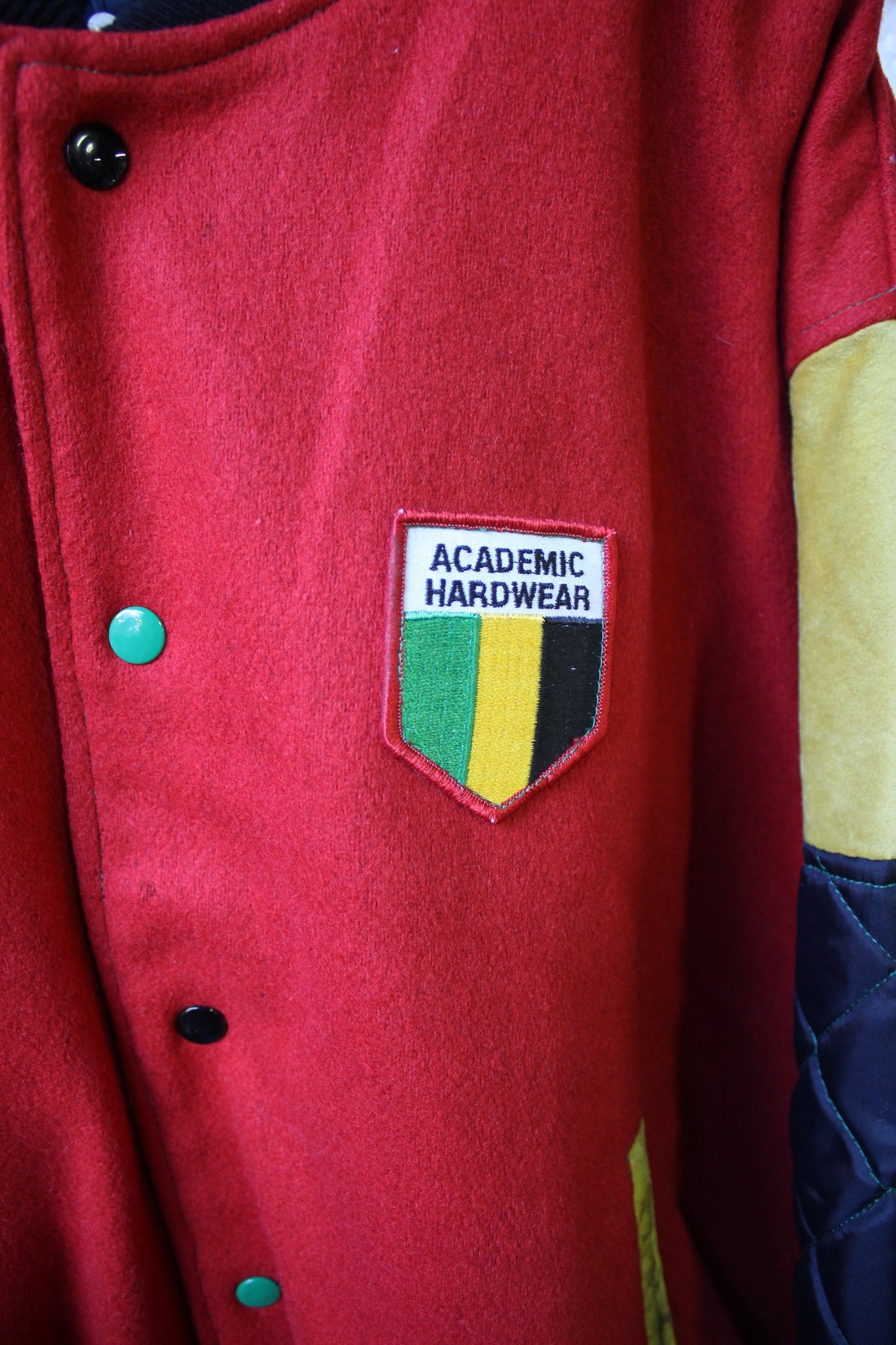 Cross Colours Academic Hardware Jacket