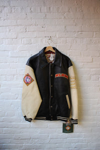 Deadstock NLBM Leather Jacket